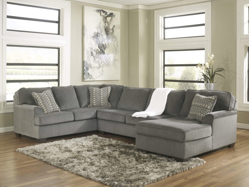 gray leather sofa recliner contemporary corner sofas loric 12700 smoke grey sectional living spaces ashley ...