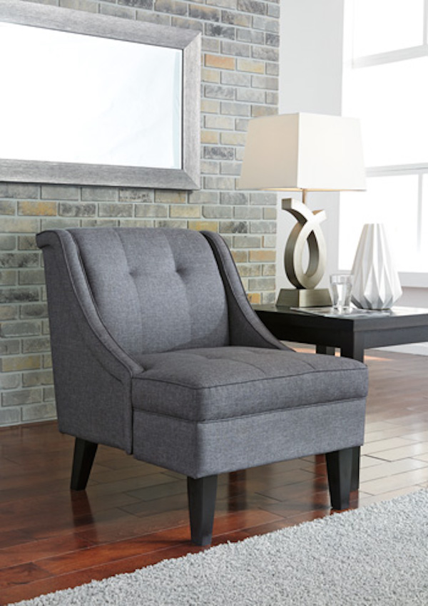 panache dog sofa modern power reclining ashley 2070260 calion accent chair in gunmetal upholstered ...