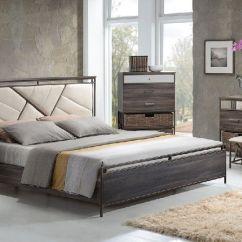 Clearance Sofa Sectionals Dog Protector Uk Adrianna 20950 Walnut Finish Cream Fabric Bedroom Set ...