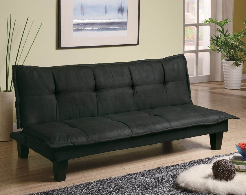 Coaster Furniture Jackson 300238 Black Futon klik klak lay