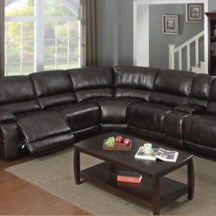 Twin Sofa Bed Leather Pick Up Salvation Army E Motion Dark Brown 3 Recliner Sectional 3503 With ...