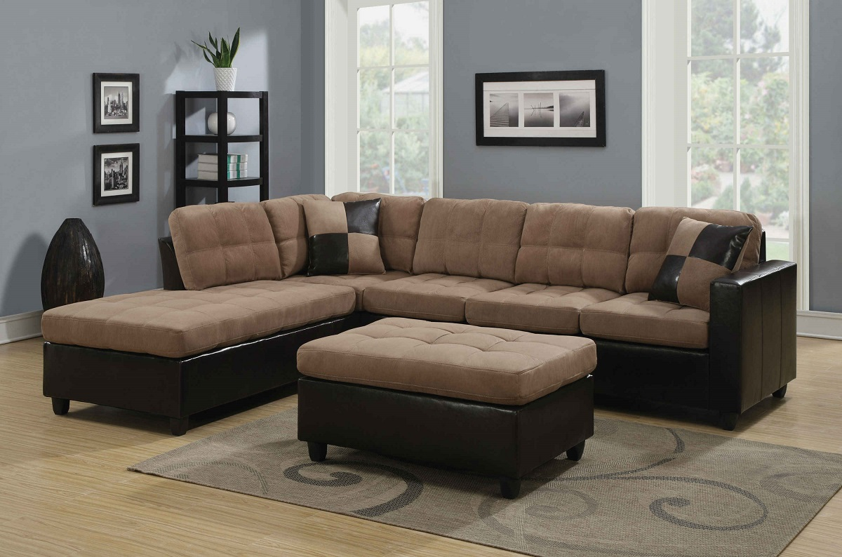 cheap sofas in san diego bailey sofa loose covers coaster 505675 harlow mallory two tone tan sectional buy
