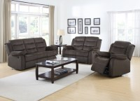 Dual Reclining bucket seat sofa and loveseat set 601881
