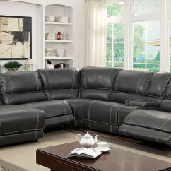 Reclinable Sectional Sofas San Antonio Grey Reclining Sofa Sectionals You Ll