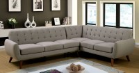 Furniture of America 6144 Gray Mid Century Modern