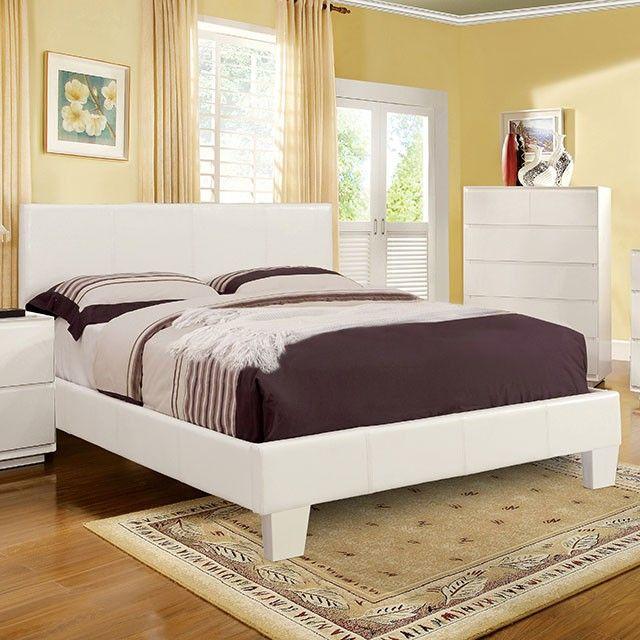 Furniture Of America 7008whck White Platform California