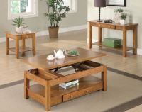 Brodi Collection 701438 Lift Top Coffee Table Set