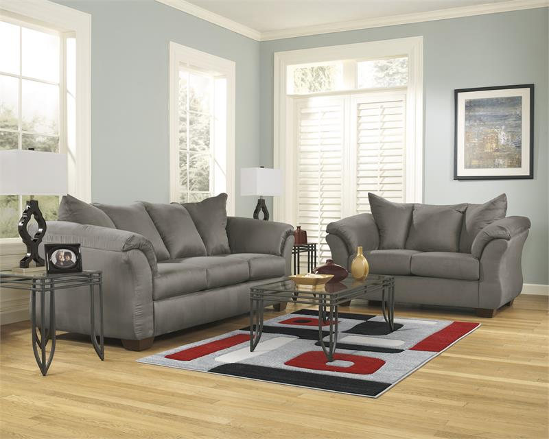 Darcy Collection 75005 Ashley Sofa  Loveseat Set