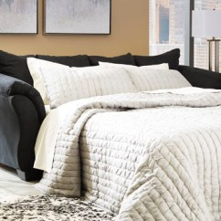 Ashley Darcy Sleeper Sofa Review Set Small Size Black 75008 By Contemporary ...