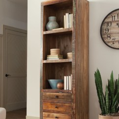 Patio Table And Chairs Clearance Extended Height Office Chair Bookcase With Three Shelves, Drawers Metal Knobs, Trim Base Legs. Use ...