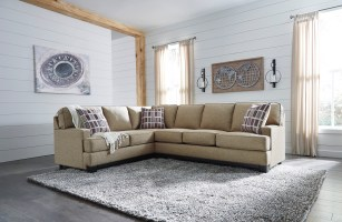 Larkhaven Sectional Sofa by Ashley Furniture Amber Color ...