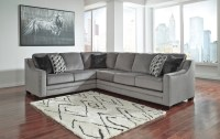 Bicknell Charcoal Sectional Sofa by Ashley Furniture 86204