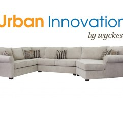 Custom Sectional Sofa Linen Chesterfield Corner Cuddler Customizable Large Erica By Urban Innovation