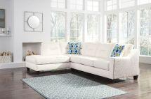 Kirwin White Sectional 99602 Ashley Furniture