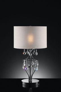 Furniture Of America L95124t Table Lamp Metal Base