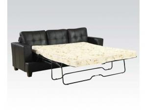 stearns and foster sleeper sofa mattress corner design for small living room platinum black upholstered in a bonded ...