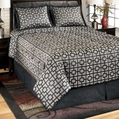 Macy S Furniture Sofa Tables Turns Into Bunk Bed Bedding Set, Maze Onyx Collection, Ashley