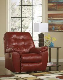 Ashley Furniture Leather Rocker Recliner