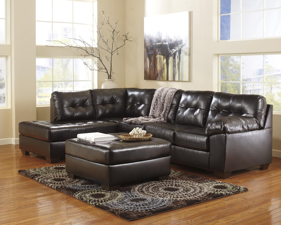 3pc recliner sofa set henley bed ashley furniture alliston durablend chocolate collection ...