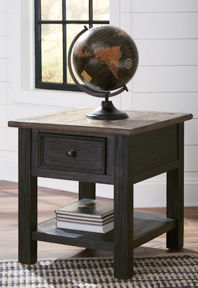 T7363 Tyler Creek by Ashley Rectangular End Table In