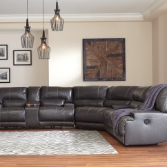 Cape Town Sofa Reviews Baker Furniture Mccaskill Collection U60900 100 Genuine Leather Sectional