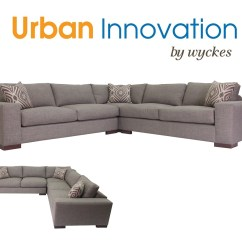 Custom Sectional Sofa Round Canada Modern Large Low Arm Made In Los Angeles Wilson By Urban Innovation