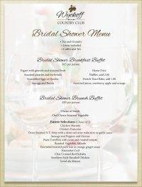 Bridal Shower Menus. bohemian bridal shower menu printable ...