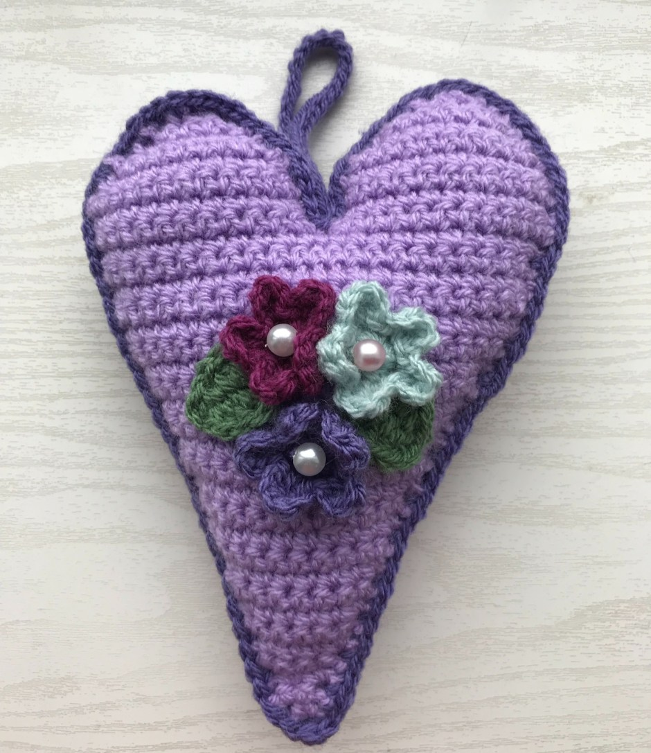 Crochet Hearts For Valentines Day And Free Crochet Heart Patterns