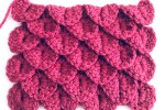 Crochet crocodie stitch tutorial