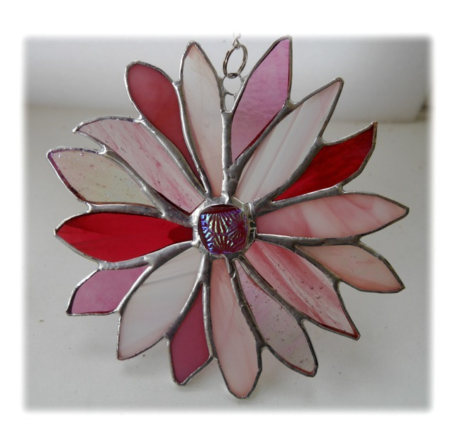 Suncatcher Folksy Friday - Pink