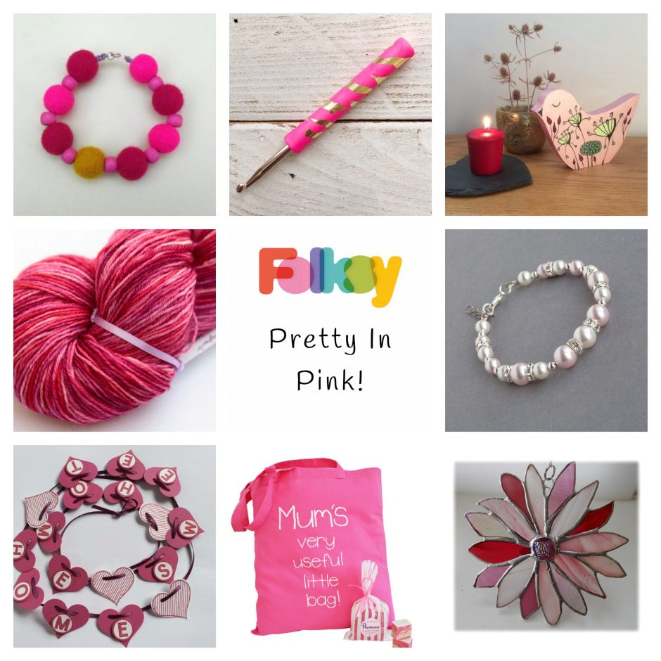 Folksy Friday - Pink Things