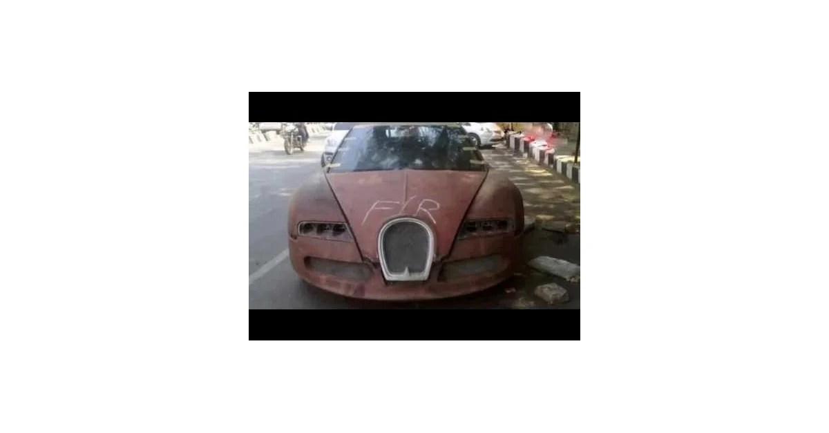 Porzucone auta w Dubaju  Wykoppl