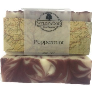 Peppermint Scented Soap with Goat Milk