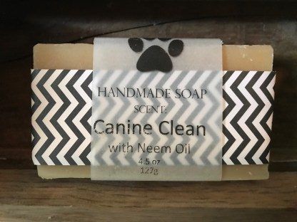 Canine Clean Scented Soap with Neem Oil and Goat Milk