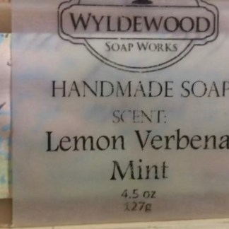 Lemon Verbena Mint Scented Soap with Goat Milk