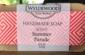 Summer Parade Scented Soap with Goat Milk