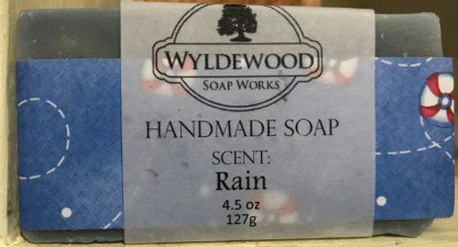 Rain Scented Soap with Goat Milk