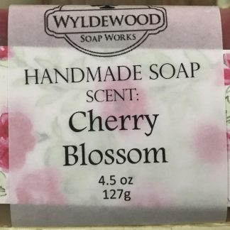Cherry Blossom Scented Soap with Goat Milk