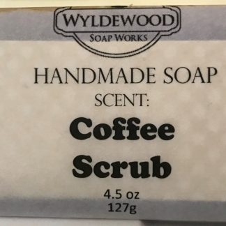 Coffee Scrub Scented Soap with Goat Milk