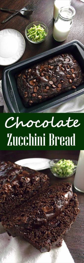Healthy Chocolate Zucchini Bread