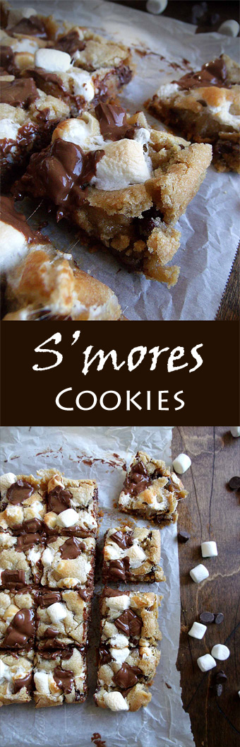 S'mores Cookies - Too far from the campfire this weekend?