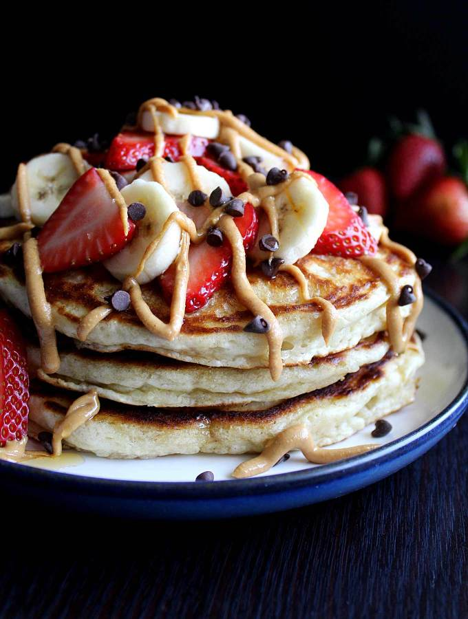 Healthy Banana Pancakes   Buttermilk Pancakes   Low-Sugar Pancakes   Easy   Fluffy Pancakes