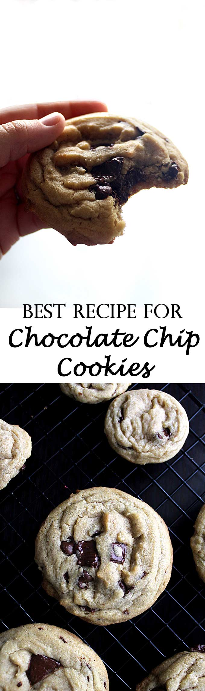 The Best Recipe for Chocolate Chip Cookies | Favorite Cookies | Best Chocolate | Soft & Chewy