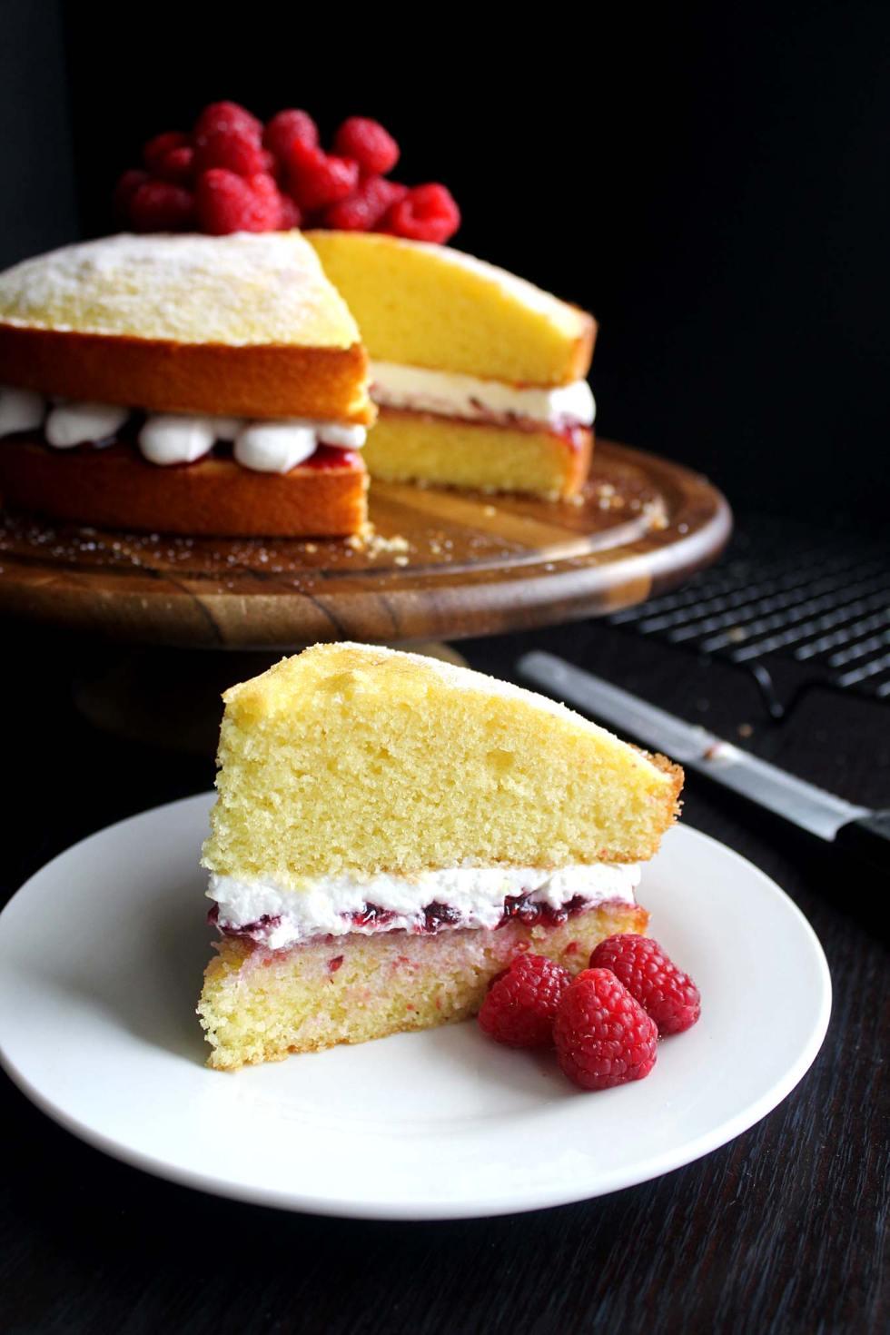 American Recipe For Victoria Sponge Cake