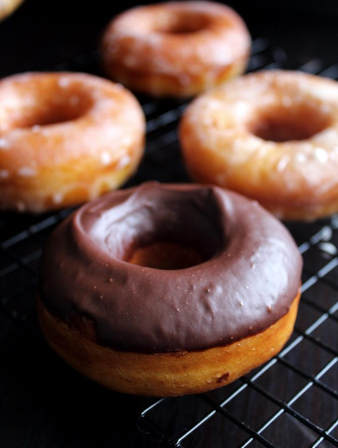 Chocolate Glazed Donut | Cinnamon Sugar Donut Holes | Chocolate Doughnut Recipe | Easy Donut Recipe | Chocolate Glaze Recipe | Fried Donuts