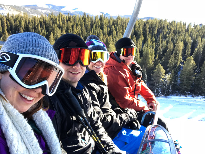 Need a getaway vacation? Our friends took a dream trip to The Village at Breckenridge Resort. Ski in ski out condos, jetted outdoor hot tubs, and incredible food! #vacationgoals