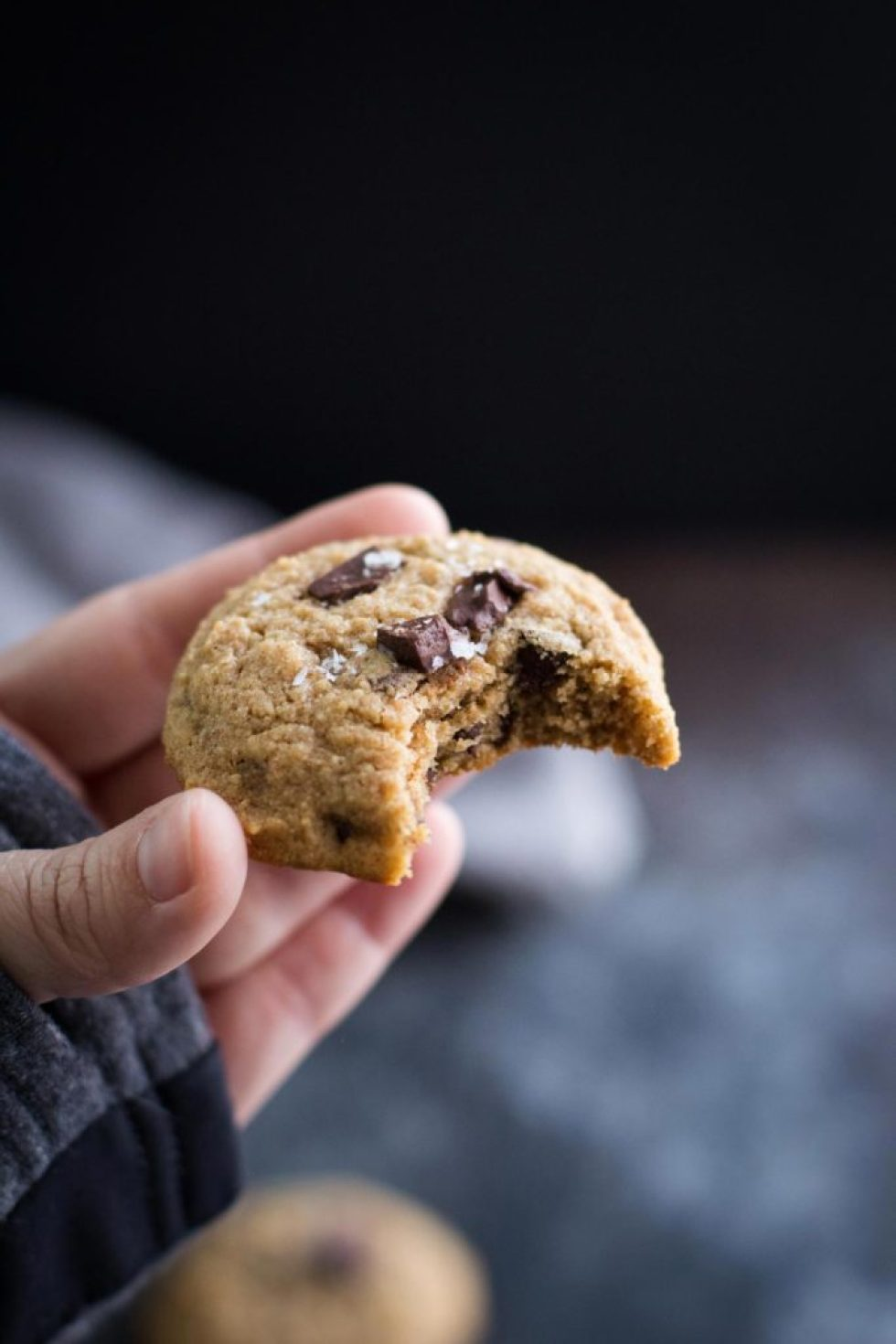 Healthy Whole Wheat Chocolate Chip Cookies | Maple Syrup or Honey | Refined Sugar Free Cookies | Refined Sugar Free Dessert