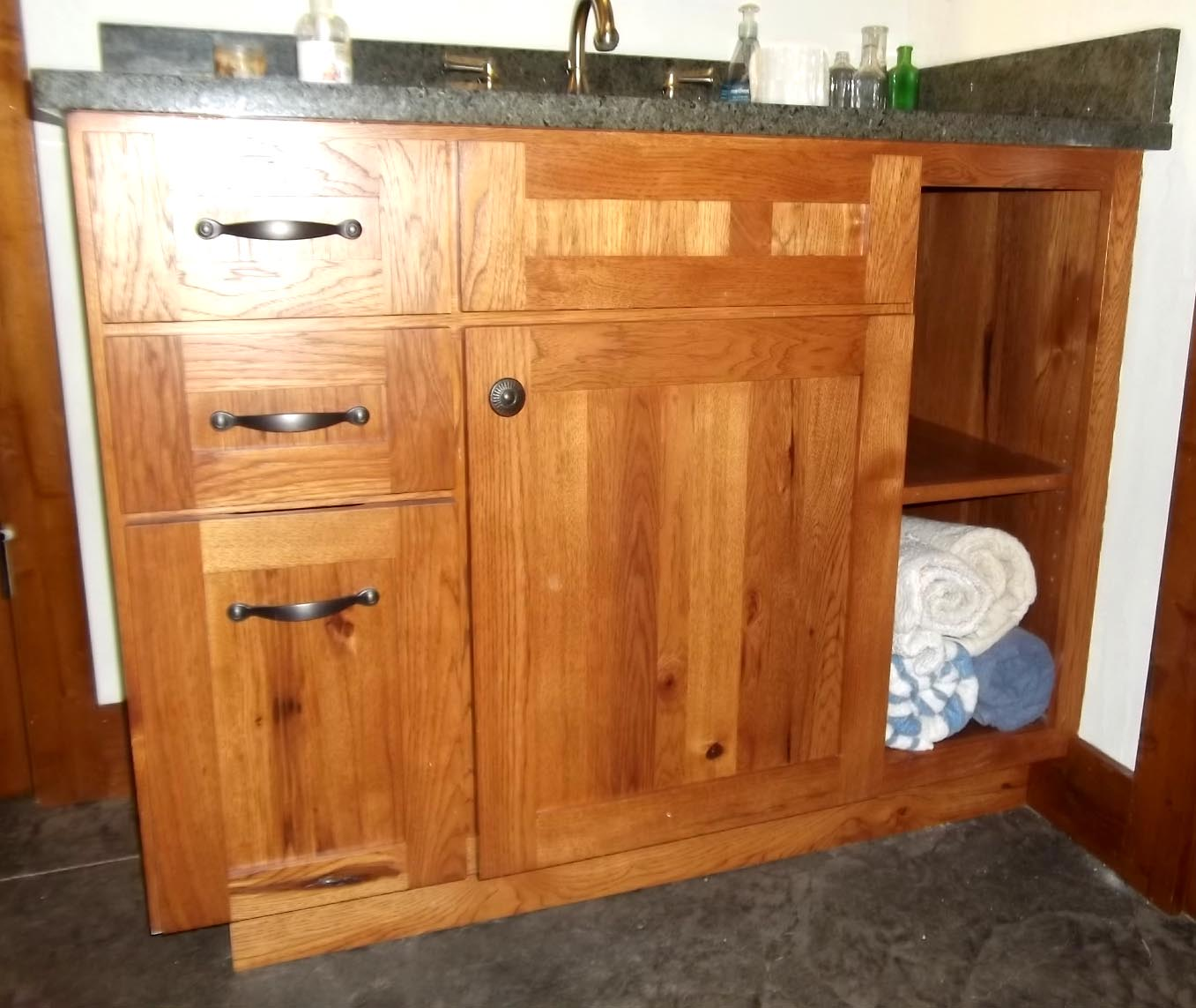 rustic hickory kitchen cabinets toys for toddlers wyman woodworks