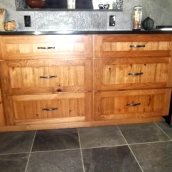 Rustic Hickory Kitchen Cabinets White Islands Wyman Woodworks