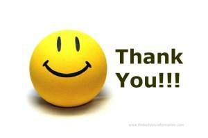 thank you smile